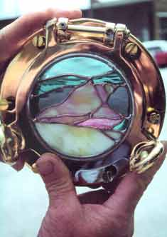 sea shell porthole